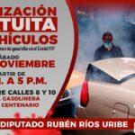 Sin descanso contra el COVID, lista la tercera jornada de sanitización vehicular en Córdoba