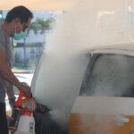 Cero tolerancia contra el Covid; se superó la expectativa tras sanitizar más de 170 unidades: Ríos Uribe