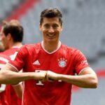 El histórico Robert Lewandowski de la Bundesliga