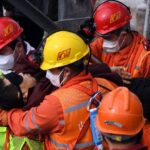 Fallecen diez mineros chinos atrapados en mina de oro