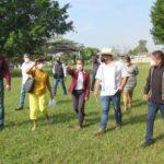 Supervisa SEV obras escolares en Yanga por casi 3.5 mdp