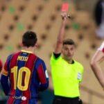 Messi no jugará dos partidos por agresión al jugador del Athletic de Bilbao