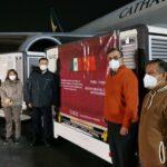 Llega a México nuevo lote de vacunas anticovid de Sinovac, informa Ebrard