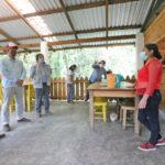 Lleva SEDESOL obras de electrificación y vivienda a comunidades de Acajete