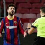 Gerard Piqué sufre lesión en la rodilla y podría no jugar la Champions League