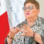 'Las protestas nos dicen que se necesita hacer más por las mujeres': Ernestina Godoy