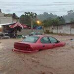 Varios municipios afectados por las intensas lluvias