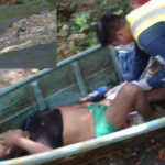 Pescador casi es devorado por lagarto en Catemaco