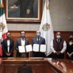 Gobierno Estatal y PNUD suscriben acuerdo para capacitar a los 212 municipios en planes de desarrollo sostenible
